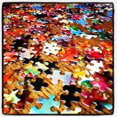 Picture of puzzle pieces